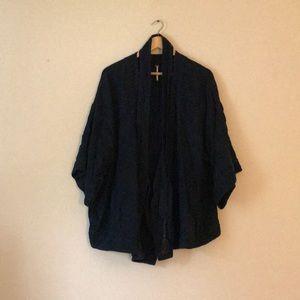 Free People Kimono Wrap with Pockets, size L
